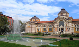 Adaptation of Central Mineral Baths for Museum of Sofia