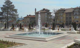 Construction of Sveti Douh Park in Montana City